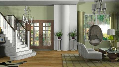 Moss Green - Modern - Living room  - by janip