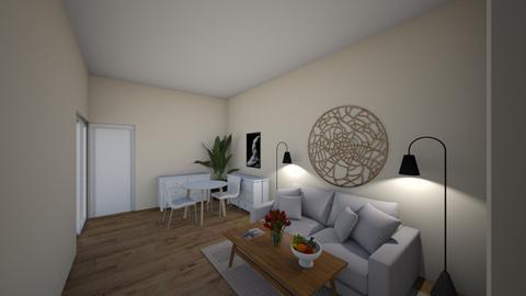 Namfon  - Living room  - by namfon_w