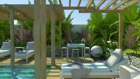 Pool - Garden - by ovchicha