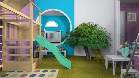 Kids Climbing Room - Kids room  - by fenwayb