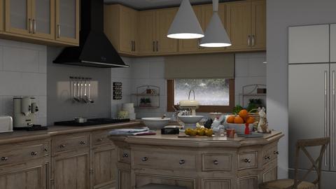 Let it rain - Classic - Kitchen  - by Claudia Correia