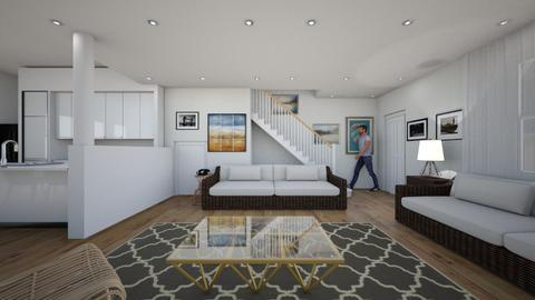 Staircase - Living room  - by SammyJPili