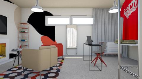 For Laurmull - Eclectic - Office  - by chania