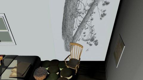 Dream Room - Rustic - Bedroom  - by tessdyer