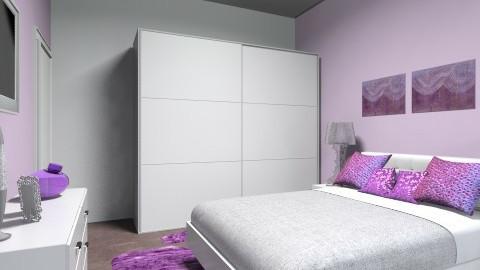 guest room - Modern - Bedroom  - by Paulina Triantafyllou