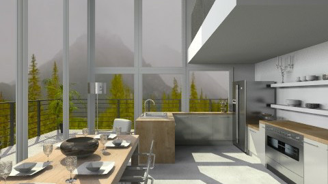 all about the view 2 - Minimal - Kitchen - by lauren_murphy