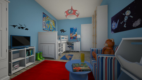 For jessica rose1984 - Eclectic - Kids room  - by Theadora