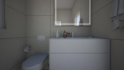 bathroom - by Filipka