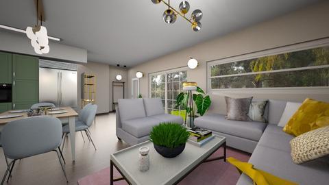 horesh 5 tivon  - Living room  - by shirlidrach