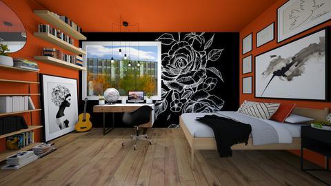 Georgia - Bedroom - by SueandEs