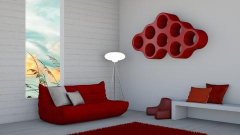 Togo Red - Modern - by designcat31