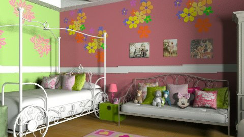 SDD - Classic - Kids room  - by Cejovic Andrijana