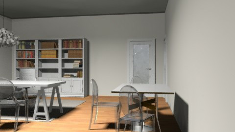 Tylie's office 58 E - Eclectic - Office  - by giaconde