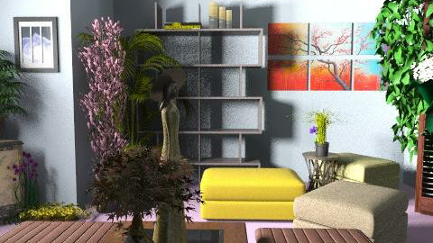 asiangreen - Eclectic - Living room  - by lavilavinia