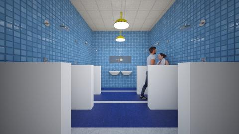 Showers - Bathroom  - by SammyJPili