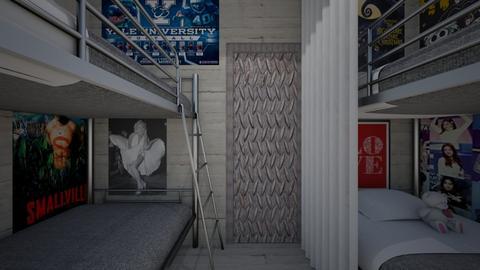 Doomsday Bunker Bedroom - Bedroom  - by SammyJPili