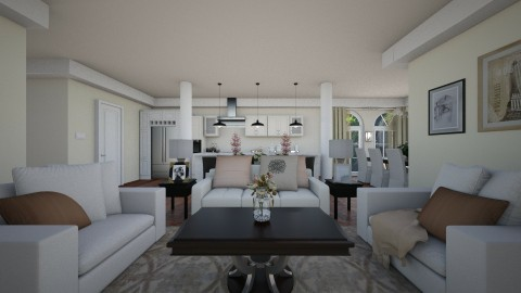 London - Classic - Living room  - by Amorum X