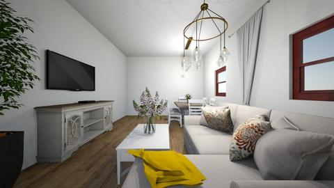 1 - Living room  - by katarzynatadla