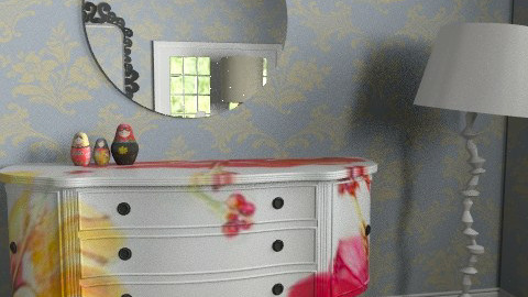 Afternoon Room copy1 - Vintage - Living room  - by Nadeige