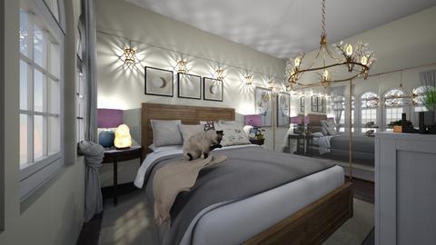 jades bedroom - Bedroom  - by Ninaoutofspace