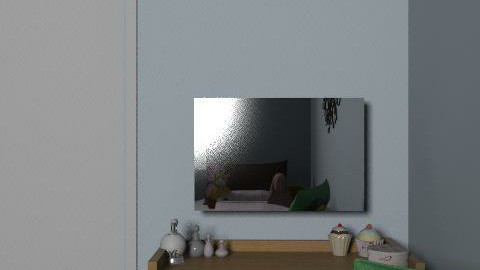 future room - Glamour - Bedroom  - by ziploop