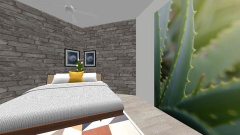 bedroom - Rustic - by ERINKATHMANN
