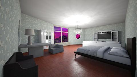 Modern Bedroom - Modern - Bedroom  - by HJ1125