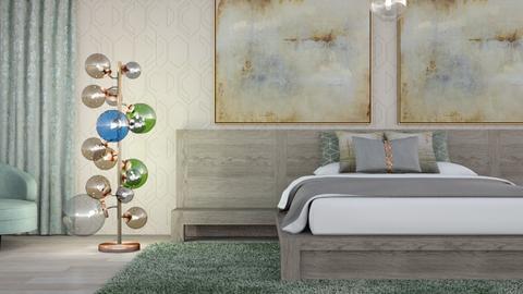 Floor Lamp Inspiration 2 - Bedroom  - by jjp513