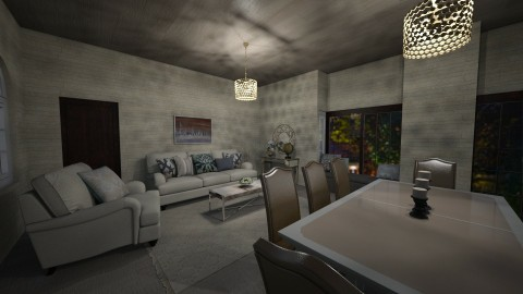 New house  - Glamour - Living room  - by deleted_1504882301_leticiacamargo