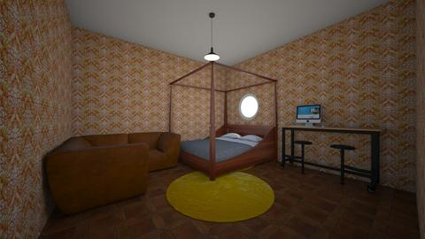 Blaise Room - Rustic - Bedroom  - by 3dCreator13