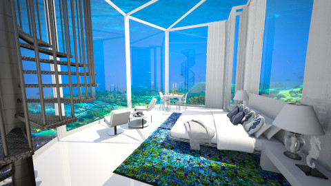 Hydropolis - Modern - Bedroom - by Claudia Correia