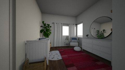 NURSERY V1 - Minimal - Kids room  - by kaitlinshay