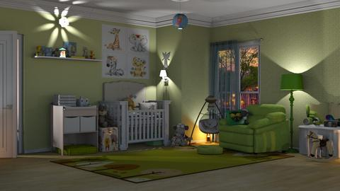 surprise baby nursery - Bedroom  - by nat mi