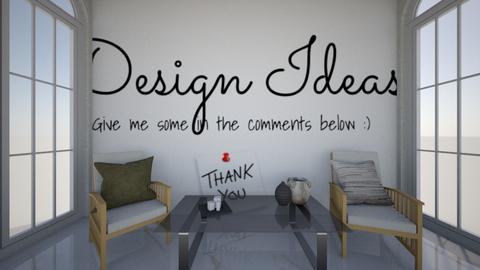 Design Ideas - by zschmitt