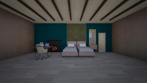 Twin Room - Bedroom  - by lianlv
