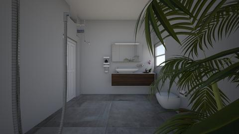 Project 4 Part 4 - Bathroom  - by Mpumie