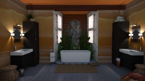 urban jungle BATH - Bathroom - by 11Kay11