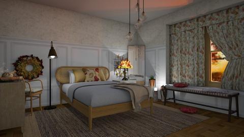 Autumn bedroom - Eclectic - Bedroom  - by augustmoon