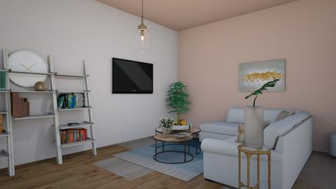Bedroom with livingroom - Feminine - Bedroom  - by simonts