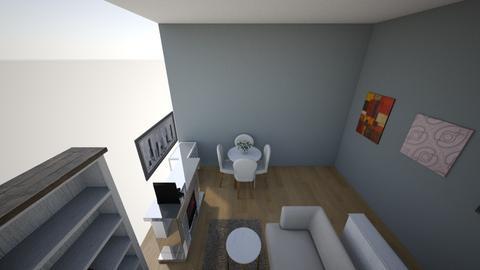 London flat - Classic - Living room  - by milenakapral