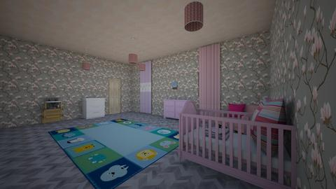 a baby room a girl - Kids room  - by peyton twins