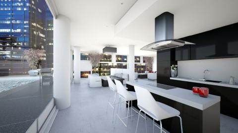 BF Kitchen  - Kitchen - by Darcy Tooka Dunham