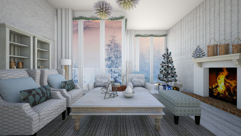 Baby its cold outside - Modern - Living room  - by Lucii