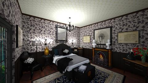 Goth Bedroom - Bedroom  - by Jodie Scalf