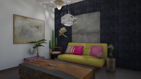 cozy futon bedroom  - Modern - Bedroom  - by tiana24