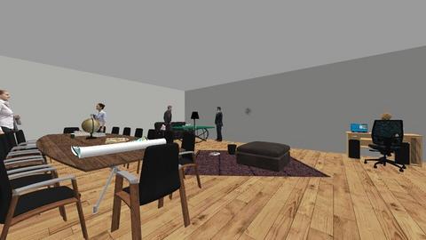 office room  - Modern - Office  - by Mustafayeva