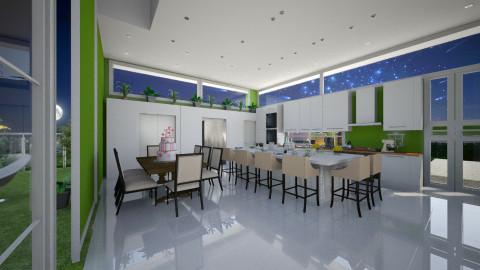 Seja Bem Vindo - Modern - Kitchen  - by Maria Helena_215
