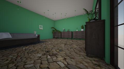 tropical bedroom - Rustic - Bedroom  - by HARPERANTIKAINEN