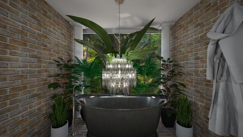 Forest Bathroom - Bathroom  - by KylaTH