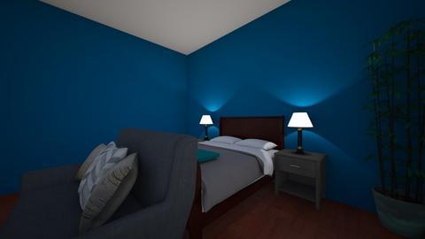 Simple Blue - Bedroom  - by Rabbit238